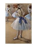 A Study of a Dancer Poster von Edgar Degas