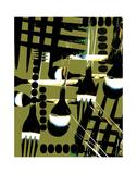 Almuerzo Prints by Carolina Pecora