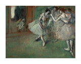 A Group of Dancers, 1890 Prints by Edgar Degas