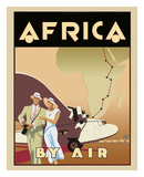 Africa by Air Plakater af Brian James