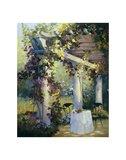 Afternoon in the Garden Posters by Carolyne Hawley