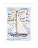 About to Sail Print by Jane Claire