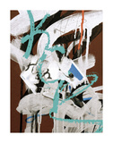 Aqua Tag 1 Posters by Jenny Kraft