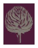 Artichoke (plum-grey) Posters