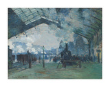 Arrival of the Normandy Train, Gare Saint-Lazare, 1877 Prints by Claude Monet
