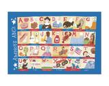 America's Alphabet Prints by Catrina Genovese