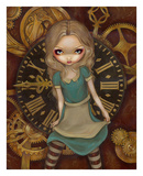 Alice and Clockworks Posters by Jasmine Becket-Griffith