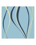 Aqua Azure Posters by Denise Duplock
