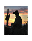Arizona Cowboy Posters by Barry Hart