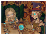 Alice and the Mad Hatter Posters by Jasmine Becket-Griffith