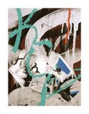 Aqua Tag 3 Posters by Jenny Kraft