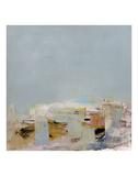 Am Strand (Miniatur) Kunst von Brigitte Wolf