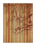 Amber Stripe Print by Erin Clark
