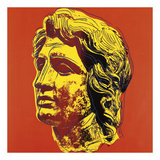 Alexander the Great, 1982 (yellow face) Prints by Andy Warhol
