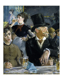 At the Cafe, c. 1879 Art by Edouard Manet