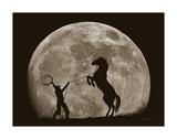 Bad Moon Risin Poster par Barry Hart