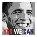 Celebrity Photography - Barack Obama: Yes We Can - Sanat