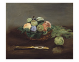 Basket of Fruit, about 1864 Poster by Edouard Manet