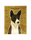 Basenji (Black) Prints by John W. Golden