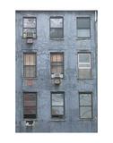 Blue Building Prints by Erin Clark