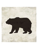 Bear Print by  Sparx Studio