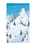 Backcountry Kunstdrucke von Steven Valiere