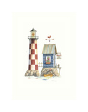 Bait House Light Prints by Lisa Danielle