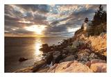 Bass Harbor Lighthouse Sztuka autor Michael Hudson