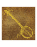 Banjo Prints by John W. Golden