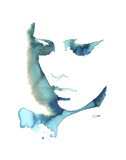 Blue Girl Prints by Jessica Durrant