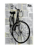 Bike Poster by Loui Jover