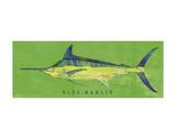 Blue Marlin Art par John W. Golden