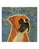 Boxer (square) Prints by John W. Golden