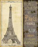 Bon Voyage II Kunst af Daphné B