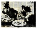 Brasserie Posters af Loui Jover