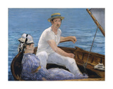 Boating, 1874 Posters by Edouard Manet