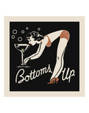 Bottoms Up Print