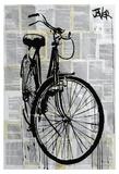 Bike Lámina por Loui Jover