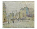 Boulevard de Clichy, 1887 Print by Vincent van Gogh