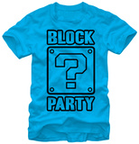 Super Mario Bros- Block Party Camiseta
