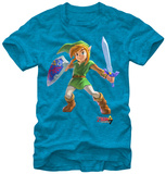 Legend of Zelda- Cheerful Link T-shirts