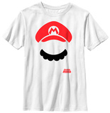 Youth: Super Mario Bros- Mario Props Shirt