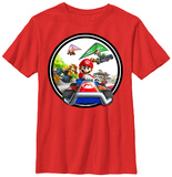 Youth: Mario Kart- Leading the Pack T-shirts
