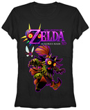 Juniors: Legend of Zelda- Skull Kid T-Shirts