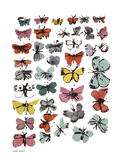 Butterflies, 1955 (many/varied colors) Plakater af Andy Warhol