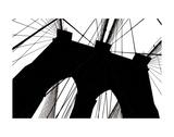 Brooklyn Bridge Silhouette Prints by Erin Clark