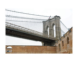 Brooklyn Bridge (brick walls) Prints by Erin Clark