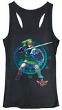 Juniors Tank Top: Legend of Zelda- Link Defense Damestanktops