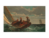 Breezing Up (A Fair Wind), 1873-1876 Print by Winslow Homer