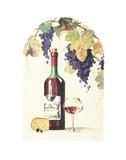 Burgundy Art by Lisa Danielle